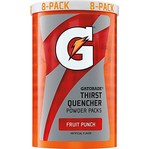 Gatorade 13166 Instant Powder Sticks, Fruit Punch, 20 oz. (Pack of 64)