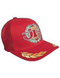 JT Racing USA Victory Trucker Hat (Red, Small/Medium)
