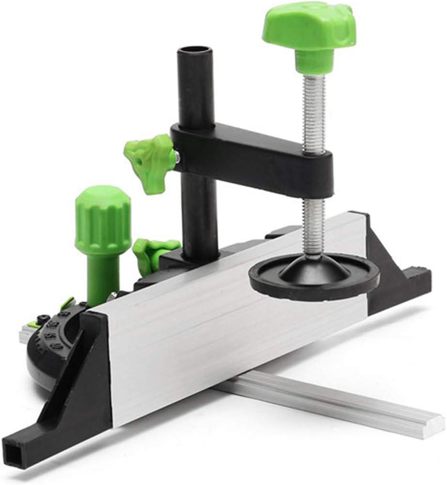 Medidor de inglete y junta de caja con tope ajustable para herramienta de carpinter/ía Bosch Belupai