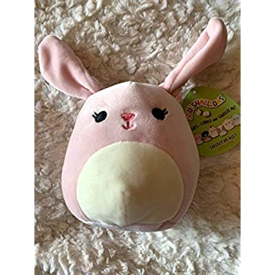 """Squishmallow Pink Bunny 5"""" - Bop: Toys & Games"""