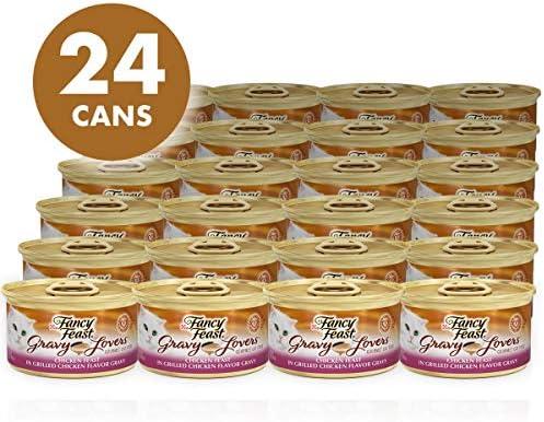 Purina Fancy Feast Gravy Lovers Adult Canned Wet Cat Food 3
