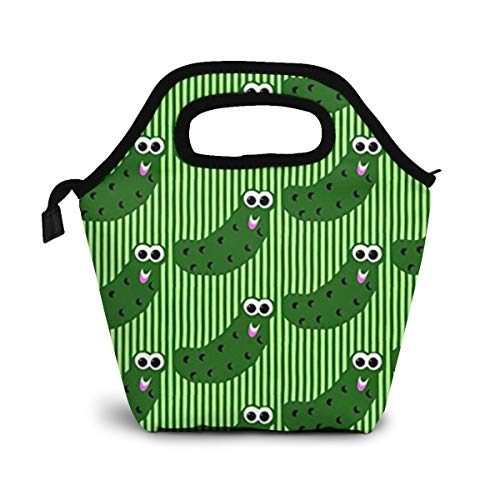 Pickles Say Hey Lunch Organizer Lunch Holder Insulated Lunch Cooler Bag for Women/Men