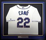 Robinson Cano Signed Jersey - Framed Majestic Xl Mcs Holo - Autographed MLB Jerseys