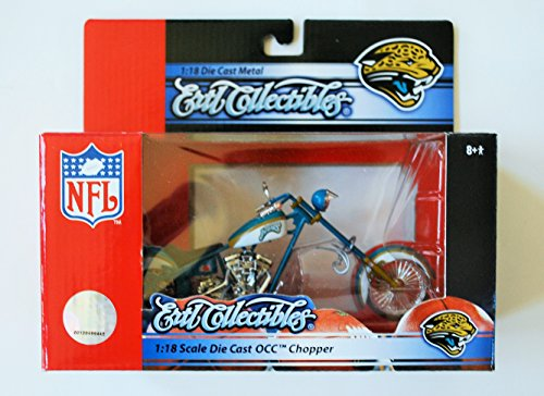 Jacksonville Jaguars 1:18 Orange County Choppers Mikey's Bike