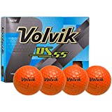 Volvik Golf DS-55 Low Compression Golf Balls - Available in 4 Colors (Orange)