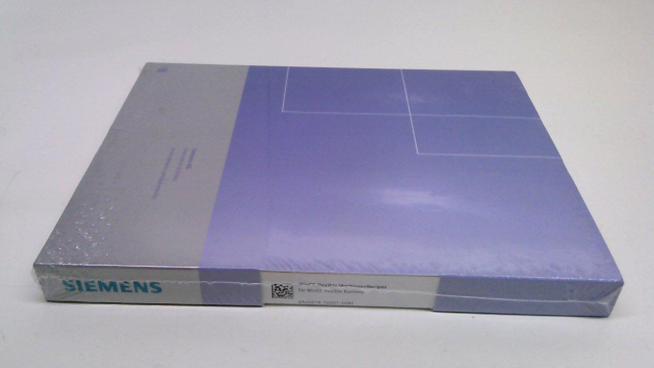 Siemens 6Av6618-7Gd01-3Ab0 Wincc Flexible Archives + Recipes