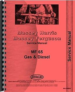 massey ferguson 65 tractor service manual 1958 1964 massey rh amazon com massey ferguson 165 service manual massey ferguson 165 service manual