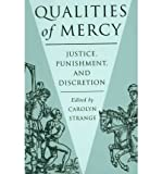 Qualities of Mercy, Carolyn Strange, 0774805854