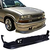 Front Bumper Lip Fits 1998-2004 CHEVY S10 1998-2004 GMC S15 SONOMA   Extreme Style Black Front Lip Spoiler Splitter by IKON MOTORSPORTS   1999 2000 2001 2002 2003