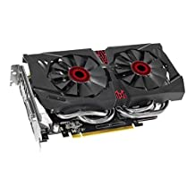 ASUS STRIX GeForce GTX 960 Overclocked 4 GB DDR5 128-bit DisplayPort HDMI 2.0 DVI-I Graphics Card