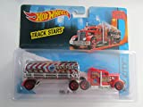 2017 Hot Wheels Track Stars Fuel and Fire Water Tank with Convoy Custom