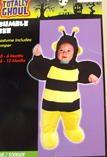 Bumble Bee Bumblebee Child Infant Costume Jumper 0-6M NIP -