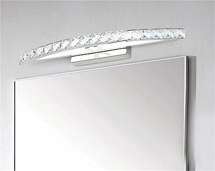 Spiegellampen  Badezimmer Wandleuchte LED Wandleuchte Moderne  Minimalistische Bad Eitelkeit Ideen Schlafzimmer Wandlampe  Kristallwandlampe Spiegel Vorderen