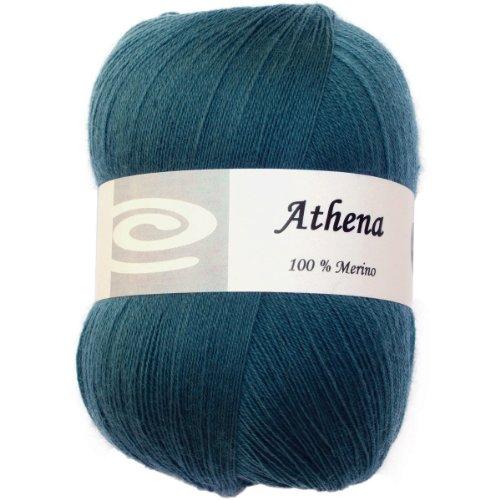 - Elegant Yarns Athena Yarn, Peacock