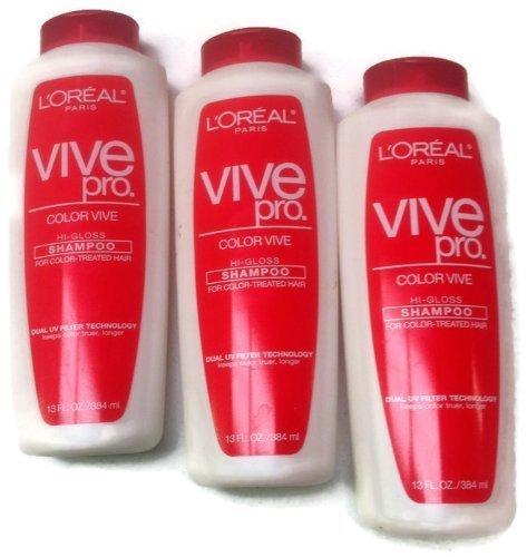 3 Pack Hi Gloss Shampoo Damaged Color Treated