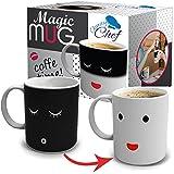 Chuzy Chef Color and Face Changing Ceramic Coffee Mug 12 oz