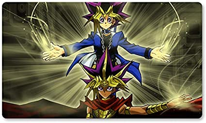 Yugi & The Pharaoh – Juego de mesa Yugioh Playmat Games Table Mat Tamaño 60 x 35 cm Mousepad MTG Play Mat para Yu-Gi-Oh! Pokemon Magic The Gathering: Amazon.es: Oficina y papelería