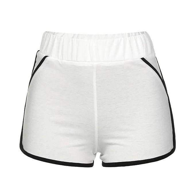 ♥-♥-♥-pantalones cortos para Mujer, RETUROM Pantalones de verano Mujeres Shorts deportivos Gym Workout Waistband Yoga Running Shorts: Amazon.es: Ropa y ...