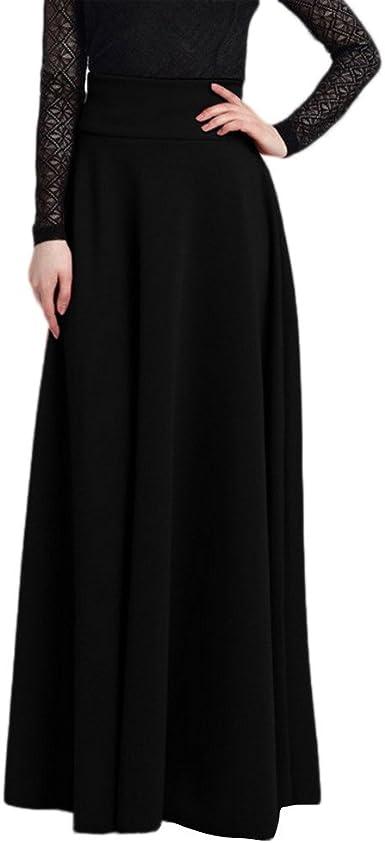 HCFKJ Faldas Mujer Cortas Falda De Burbuja para Mujer Falda Larga De AlgodóN De Cintura Alta Falda Larga: Amazon.es: Ropa y accesorios