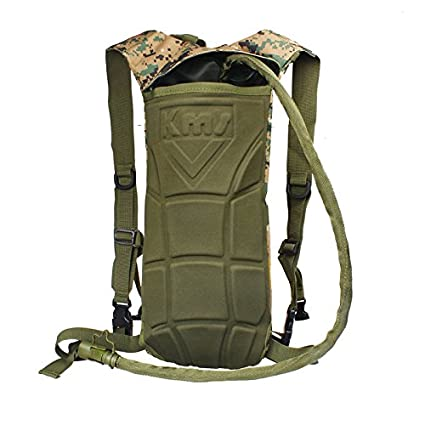 9344b7caef16 Amazon.com: Glumes Military Tactical Hiking Backpack 45L Water ...