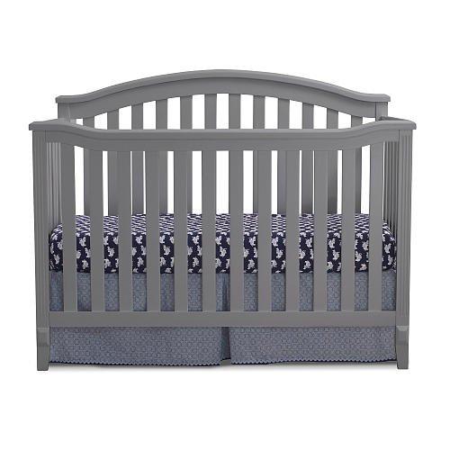 Sorelle Berkley 4-in-1 Convertible Crib - gray