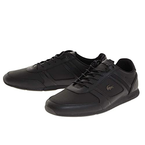 3d0b76267 Lacoste Menerva 318 2 CAM Black Black 44.5  Amazon.co.uk  Shoes   Bags