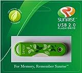 Lexar JumpDrive TwistTurn 16 GB USB 2.0 Flash Drive Green Eco