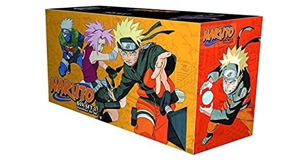 Amazon.com: Naruto Box Set 2: Volumes 28-48 with Premium (2 ...