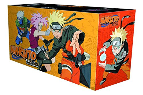 Naruto Box Set 2: Volumes 28-48 with Premium (2) (Naruto Shippuden Complete Series 5 Box Set)