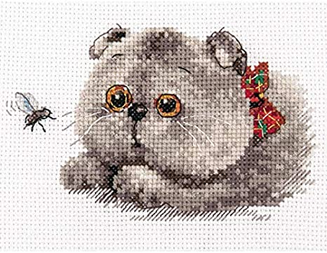 """/""""Squirrel/"""" Counted Cross Stitch Kit ALISA 0-173"""