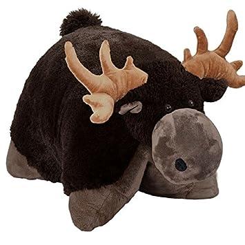 Pillow Pets Jumboz Chocolate Moose