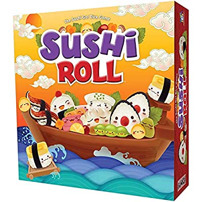 Sushi Roll - The Sushi Go! Dice Game: Toys & Games