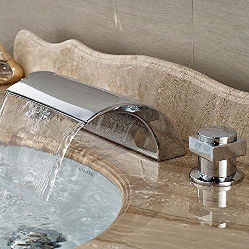 Style 5 Maifeini The Deck Of The Modern Installing Dual Knob Falls Copper Basin Faucet Bathrooms Are Generally Chrome Sinks Mixers, Style