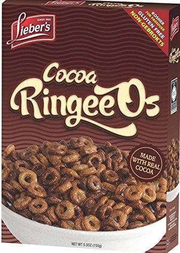 Lieber's Cocoa RingeeOs Gluten-Free Kosher For Passover 5.5 oz.