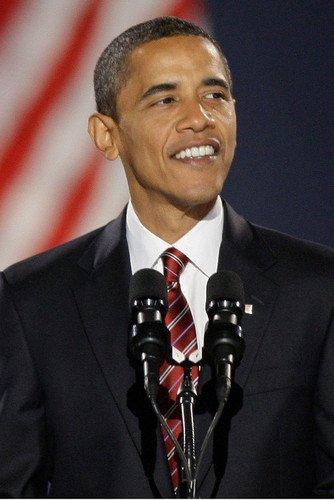 Obama Mini Poster - Barack Obama 11x17 Mini Poster Smiling Pose