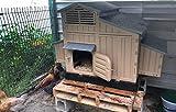 Rural365 Large Chicken Coop Hen House, 4 Nesting