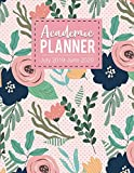img - for Academic planner July 2019-June 2020: Monthly Calendars with Holidays, Planner Schedule Organizer July 2019-June 2020 Time Management 52 week for family friends teachers book / textbook / text book