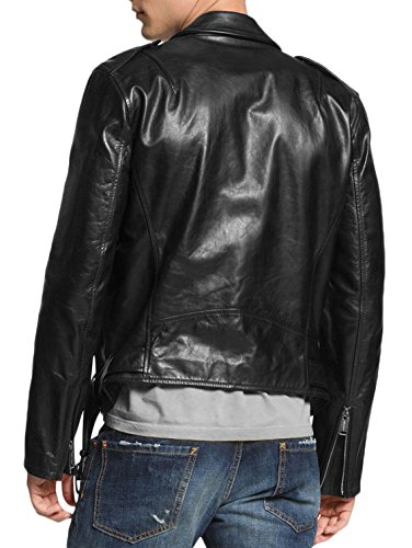 Leather Giacca Junction Giacca Leather Uomo Junction Black Uomo Black Leather Giacca Junction Uomo wzXRzaAqn0