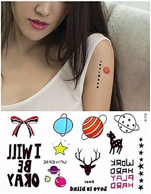 Tatuajes Temporales Niñas Pequeño Patrón Body Art Tattoo Niños ...