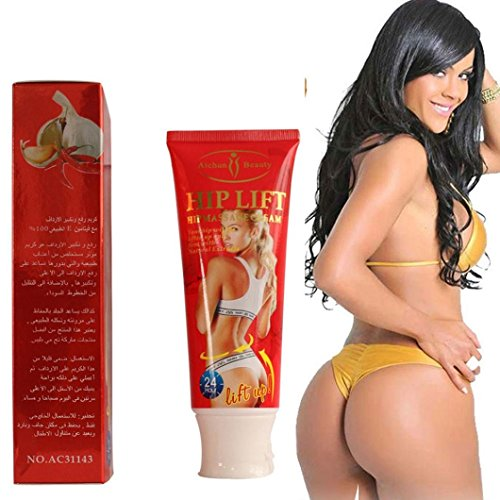 (Hip Lift Up Butt Firming Enlargement Cellulite Removal Cream Fast Results 120g by Aichun Beauty)