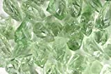 Fantasia Materials: 3 pcs of Prasiolite Green Amethyst Professional Facet Rough - 10-20 cts/pc - Grade 3 - Raw Natural Crystals for Faceting, Cabbing, Cutting, Lapidary, Polishing, Wire Wrapping