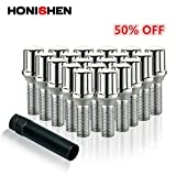 Honishen Spline Lug Bolt Sets/Chrome (12mm x 1.50 Thread Size)