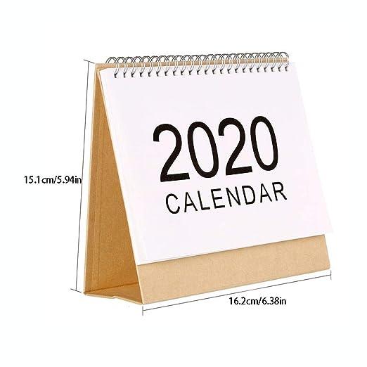 iBàste 2019-2020 - Calendario de Mesa mensual, para Profesores ...