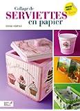 Collage de serviettes en papier