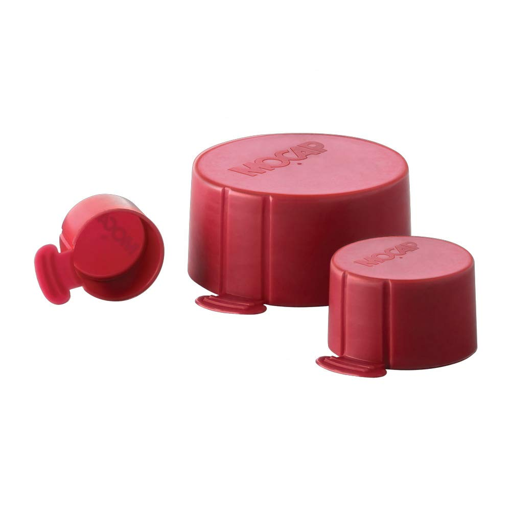 Tear Caps for NPT Threads Tear Cap for 1.250'' (1-1/4'') NPT Threads LDPE Red MOCAP TCNPT1250RD1 (qty400)