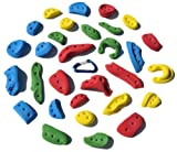 30 Pack Screw-Ons l Climbing Holds l Mixed Bright Tones