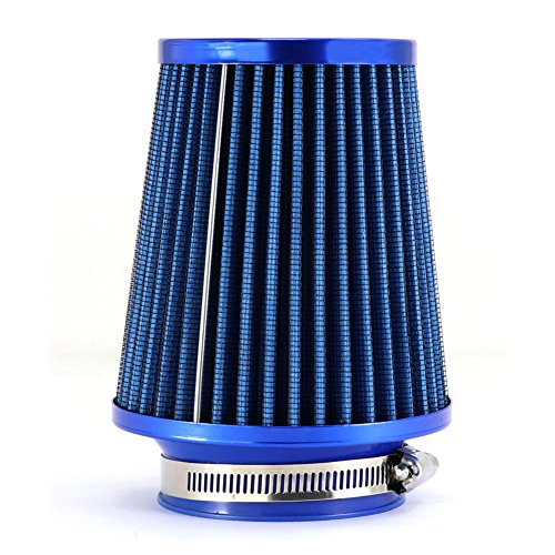 TIROL Air Filter Round Tapered Mini Power Stack Auto Cold Air Intake Diameter 3