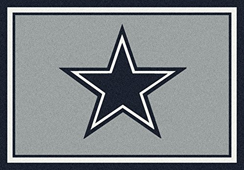 - Dallas Cowboys NFL Team Spirit Area Rug by Milliken, 5'4