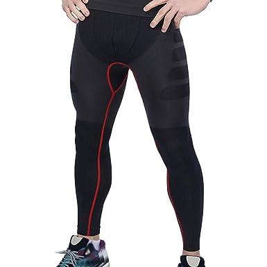 Foruu - Pantalones de Yoga para Hombre, Deportivos, Gimnasio ...