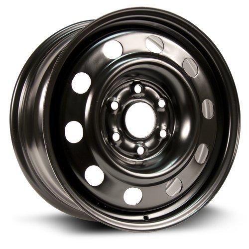 RTX, Steel Rim, New Aftermarket Wheel, 17X7, 6X132, 74.5, 50, black finish X47279